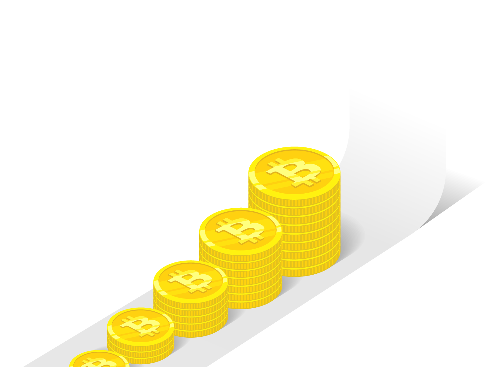 ビットコインの値上がりチャート